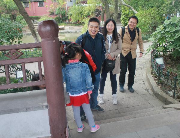 信电学院工会组织教职工赴嘉兴南湖享美景